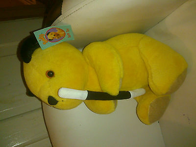 """Sooty Show Magician Soft Plush Toy 12"""" - with Tags"""