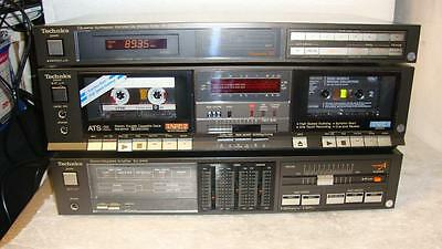 TECHNICS Z400 SEPARATE COMPONENT STEREO SYSTEM-Old school-Made in Japan.
