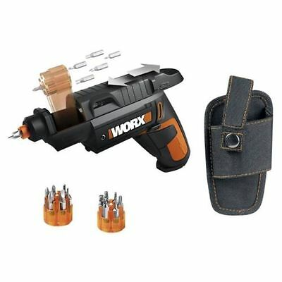 Worx SD Slide Driver Cordless 4V Screwdriver Auto Multi Bit Shift Li-Ion WX254.1