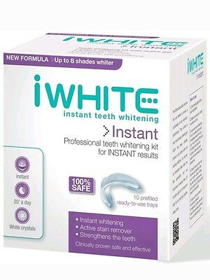 I White Instant Teeth Whitening Kit 10 Prefilled Trays Free Delivery To Uk