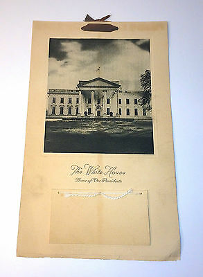 Antique White House Calendar C1947 Advertising WW2 Rebuilding - Mutual Insurance