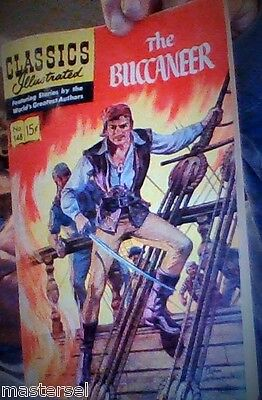 Classics Illustrated The Last In This Series  The Buccaneer  # 148 1959