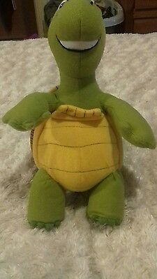 "Verne the Turtle from Over the Hedge soft plush toy Dreamworks Gosh 12"" Tall"