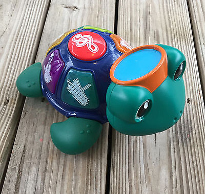 Baby Einstein Neptune Orchestra Musical Turtle Infant Toddler Learning Toy, EUC