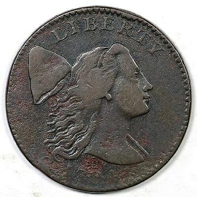 1794 S-28 R-2 Head of '94 Liberty Cap Large Cent Coin 1c