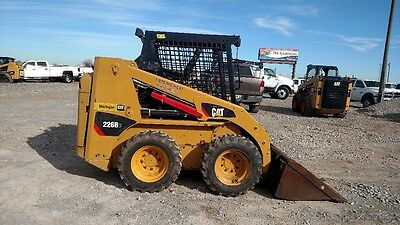 2015 Caterpillar 226 B3 With Hyd Quick Attach Skid Steer Only 2173 Hours