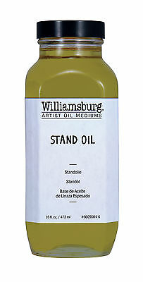 Golden Artist Colors 6009004-6 Williamsburg Stand Oil 16 Oz. Can