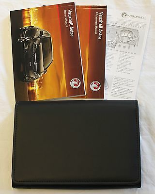 Genuine Vauxhall Astra Owners Manual Handbook Pack 2009 - 2012 Pack !!!!