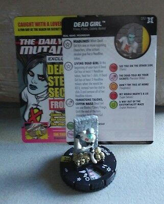 Deadpool x-force heroClix Marvel super rare dead girl 051 in hand ready to ship