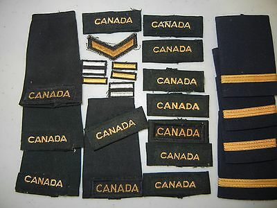 Royal Canadian Military Patches Canada Lot Of Eighteen (18)