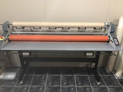 Royal Sovereign Laminator Mounting Machine 1600 Wide Cold Or Heat