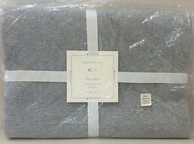 NIP Pottery Barn Kids Baby DASH Nursery Crib/Toddler Quilt ~ DISCONTINUED!