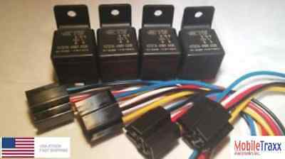 Tyco Relay (4-PACK)  SPDT 20/30A 12v 5-Pin V23234-A1001-X036 Bosch Style