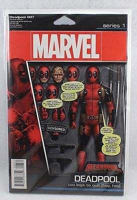 Marvel Comics Deadpool 007 #7 Action Figure Cover Variant Too Legit To Quit
