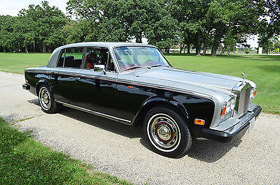 1979 Rolls-Royce Silver Shadow - II Low mileage, very original example in great color combination. Collector owned.