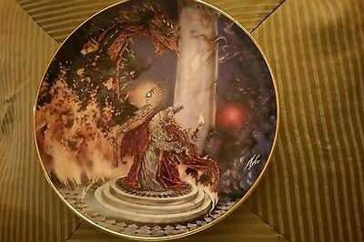 Vintage Royal Doulton Franklin Mint The Dragon Master China Plate by M. Pinkney
