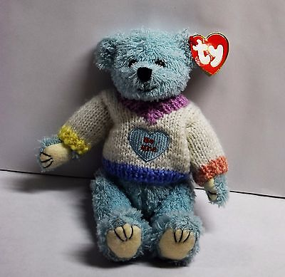 "Flynn Be Mine Bear  TY ATTIC TREASURE  RETIRED NEW with Tags 8"" 2000"