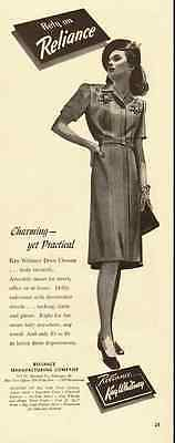 1943 vintage fashion ad for 'Reliance', Kay Whitney  -071612