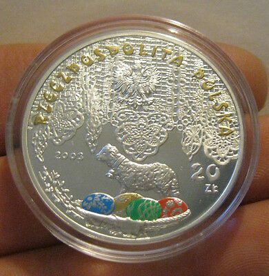 Poland - 2003 Silver Proof 20 Zlotych (Multicolored)