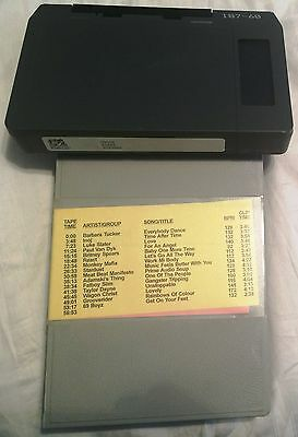 Wolfram Dance Nov 1998 U-Matic Promo Music Videos/paul Van Dyk/britney/inoj +Dvd