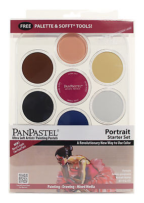 Armadillo Art 30073 Panpastel Pp 7-Color Pastel Set Portrait Starter