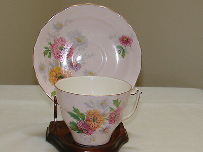 Vintage Old Royal Bone China England Cup And Saucer.