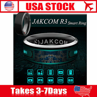 12# Jakcom R3 NFC Magic Wear Smart Ring For Android IOS Windows iPhone Samsung