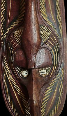 New Guinea Middle Sepik Mask with incised design
