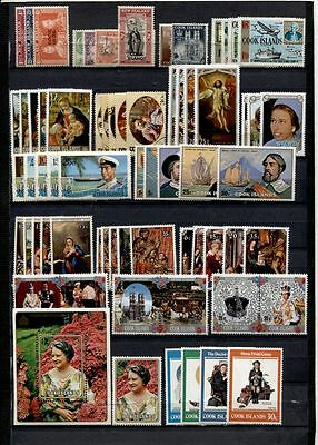 Cook Islands ********  22 Complete  Sets Mostly Mint  ******** Cat. $91