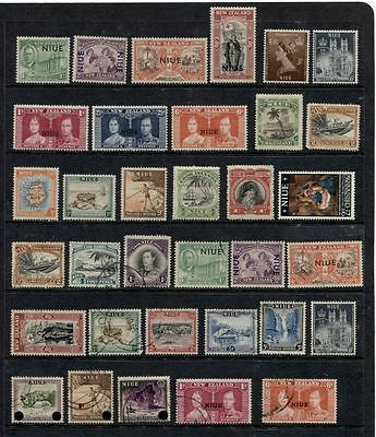 Niue ********* Pre-1970 Mint And Used Selection ********** Cat. $40