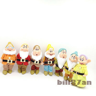 7pcs/lot Snow White and the Seven Dwarfs Cute Figure Toys Decoration Gift
