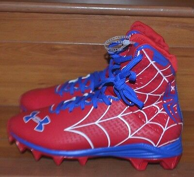 Under Armour Spiderman Highlight Alter Ego Jr Football Cleats (1246277)Size 6Y