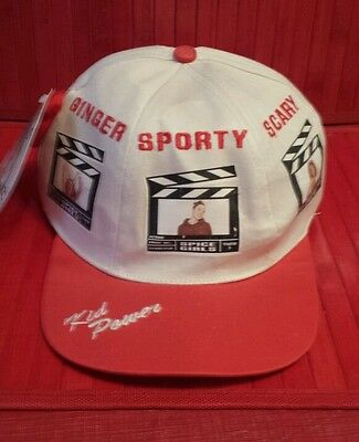 Spice Girls 1997 hat . Ginger, Sporty,Scary,Baby and Posh