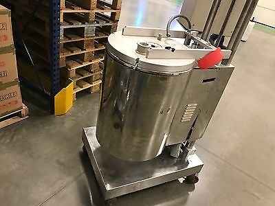Tecnicoll Kettle Mixing tank stainless jacketed 17 gal variable speed mixer 65L