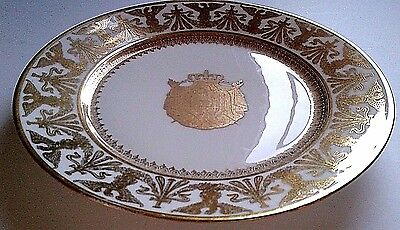 Napoleon Bonaparte Coronation  Plate 1804 Used By Imperial Royal Family W Cypher