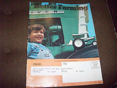1971 Oliver Better Farming Magazine 2655 1755 1855 1655 Tractor