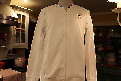 Nike Court Men's Tennis Jacket*new With Tags*retails $80* Item 830909 100*white*