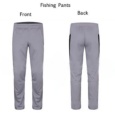Mens Fishing Pants Breathable Outdoor Sunscreen Anti-mosquito Moisture Quick-dry