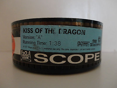Kiss of the Dragon (2001) 35mm Movie Trailer #Version A Cells SCOPE 1min 38secs