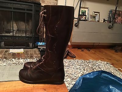 Dansko Brown Leather (Comfort) Riding Boots Womens Size 8.5 or 9 (Euro 39)