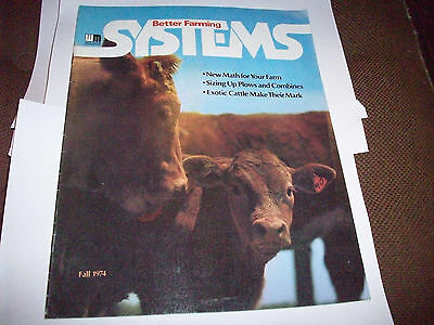 1974 White Better Farming Systems Magazine 1265 1365 1465 4-150 Tractor