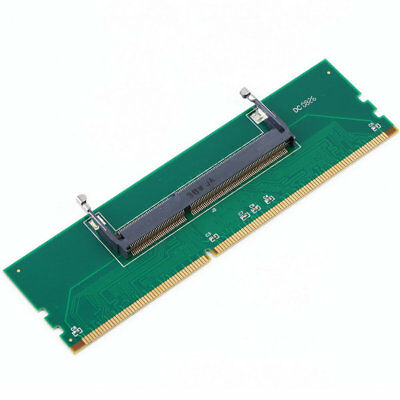 1pc DDR3 Laptop SO-DIMM to Desktop DIMM Memory RAM Connector Adapter DDR3 New AU