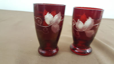 ruby cut to clear glasses