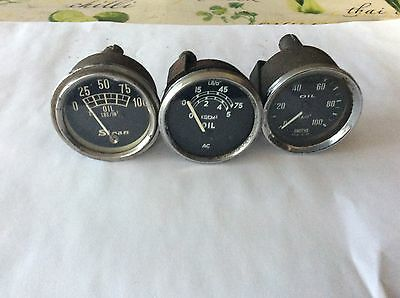 Classic collection of car gauges