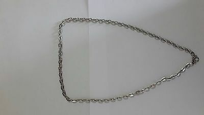 """24"""" Necklace Stainless Steel Chain 1 Hook For Thai Buddha Amulet Pendant"""