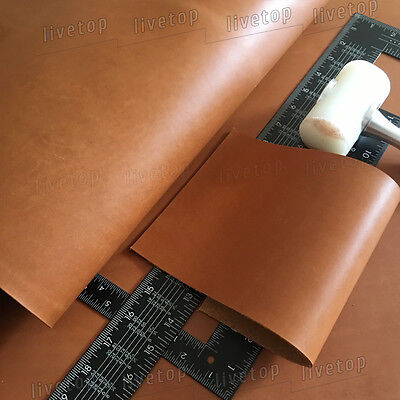 2mm light Brown Thick Leather Cowhide Leather cowhide Cow Hide leather pieces