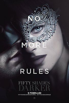FIFTY SHADES DARKER_NO MORE RULES 11x17 MINI MOVIE POSTER