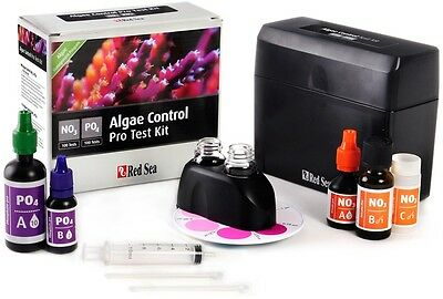 Red Sea Algae Control Pro Test Kit Phosphate and Nitrate Marine Coral Reef Tank