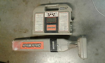 Ditch Witch Subsite 950T & 950R Underground Cable/Pipe Locator