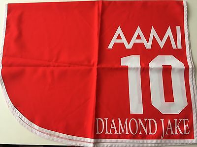 Diamond Jake 2002 VRC Derby Saddlecloth. Melbourne Cup Carnival Horse Racing